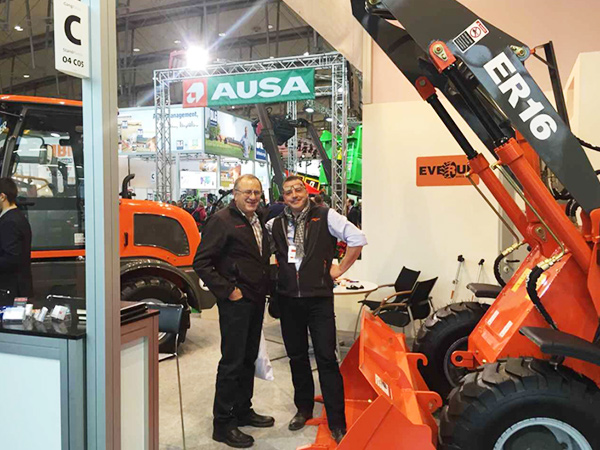 EVERUN in Agritechnica Hannover Fair 2015 Show