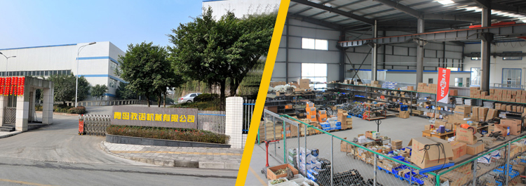 Parts warehouse in Qingzhou
